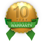 Roofman 10 Year Extended Warranty.