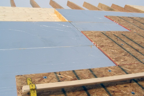 Professional roof insulation services from Roofman.
